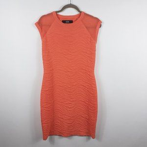 Cut25 by Yigal Azrouel Textured Bodycon Dress L
